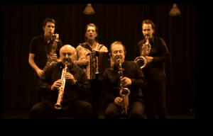 Unreleased Saxophone Quartet and François Castiello