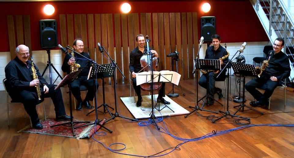 """le Quatuor """"Inédits"""" et Xavier Phillips"""