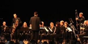Michel Supéra en enregistrement avec l'Ensemble Borée