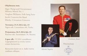 Concerts Soliste en Finlande
