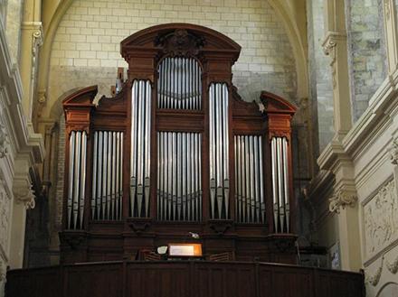 Concert Saxophone et orgue à l'Abbatiale Notre-Dame de Ham