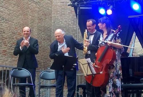 Concert-Création du trio pour saxophone