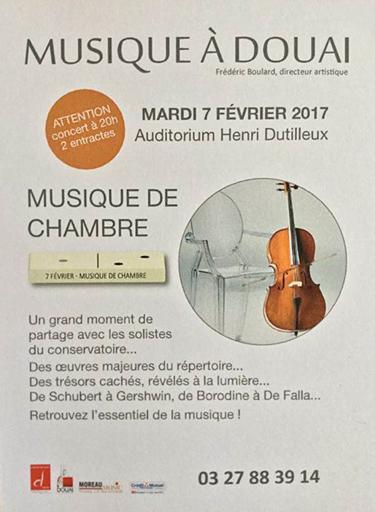 Concert au CRR de Douai