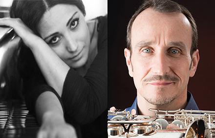 Varduhi Yeritsyan et Michel Supéra