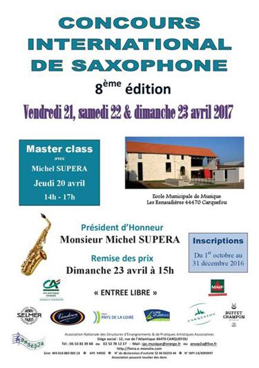 Concours International de Saxophone Buffet-Crampon