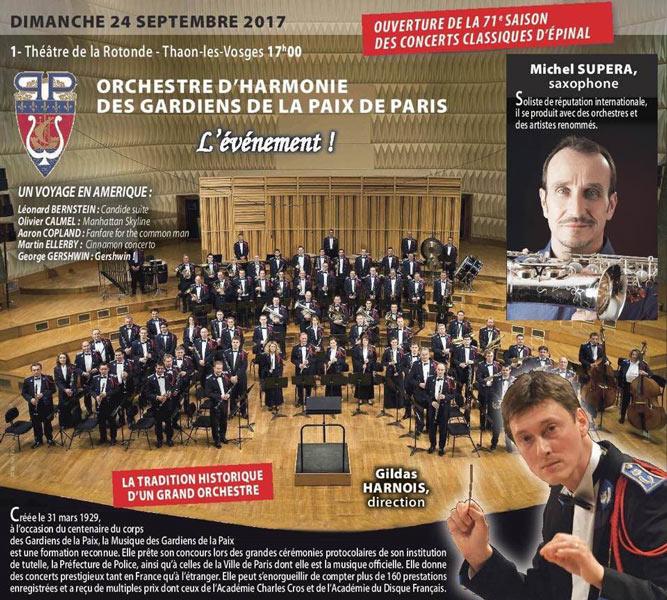Concert thaon-les-Vosges