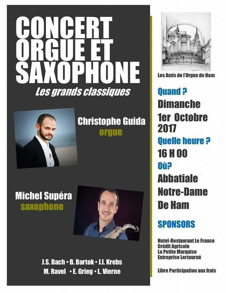 Concert orgue & saxophone