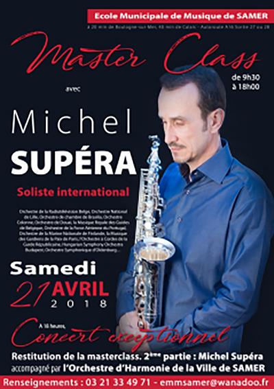 Concert soliste à Samer