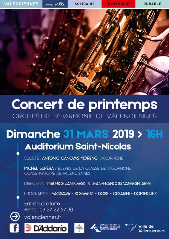 Concert à Valenciennes