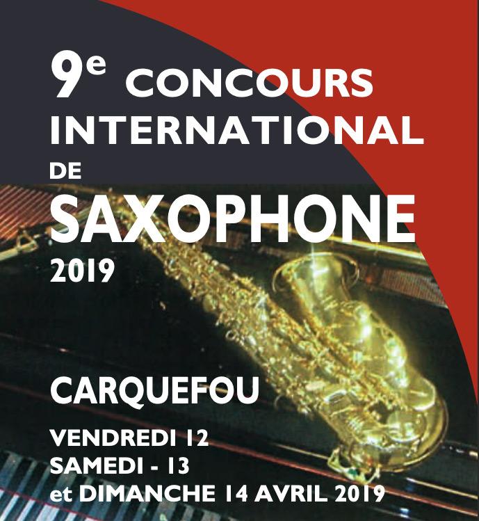 concours International de Saxophone Carquefou