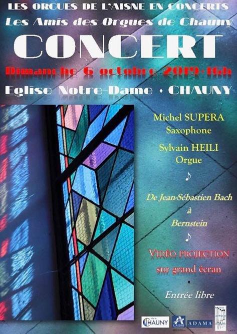 Concert avec l'organiste Sylvain Heili