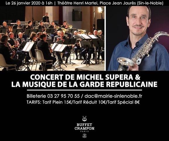 Concert Michel Supéra